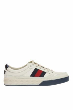 Sneakers with 'web' strap od Gucci