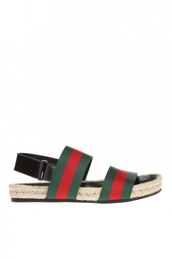 cab5762d7 Sandals with 'Web' strap Gucci - Vitkac shop online