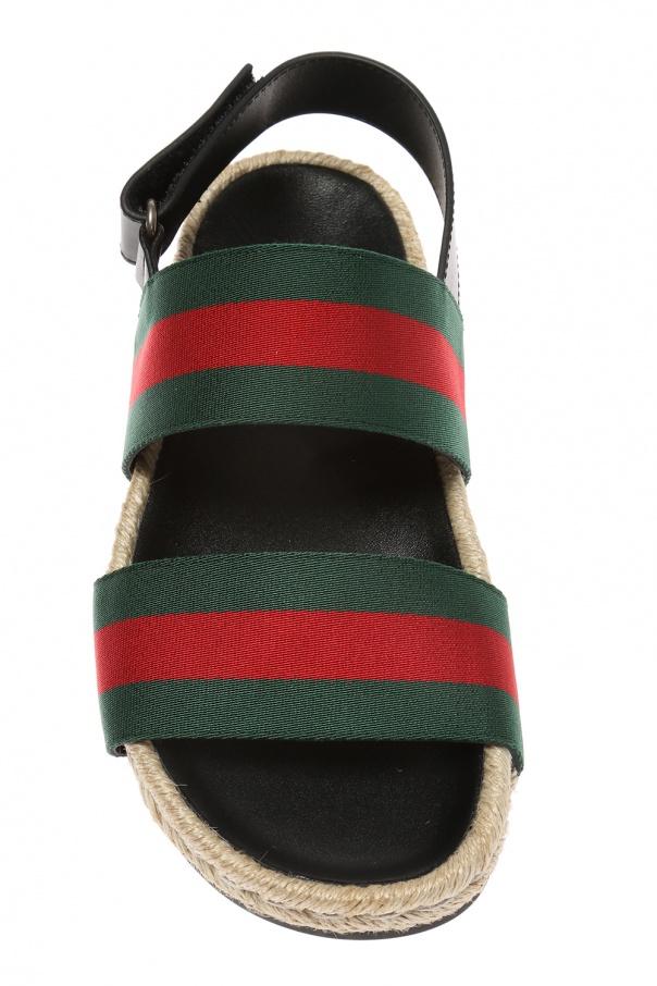762b4918399 Sandals with  Web  strap Gucci - Vitkac shop online