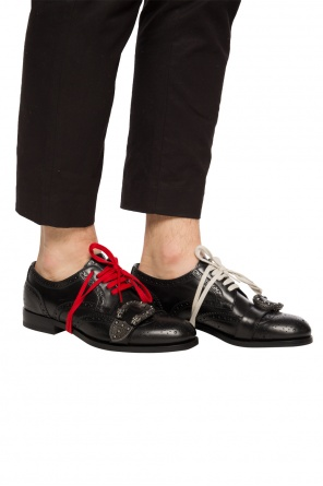 Lace-up brogue shoes od Gucci