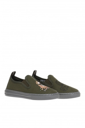 Buty 'leo' typu 'slip-on' od Stella McCartney Kids