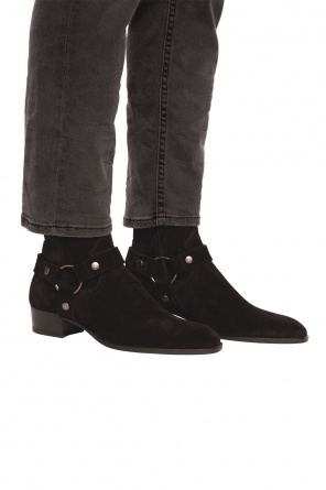 Ankle boots with straps od Saint Laurent