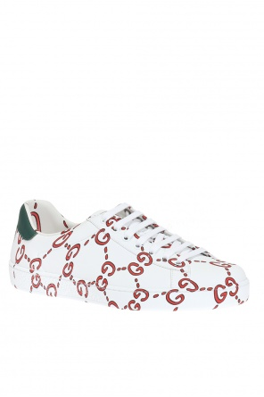 'ace' printed sneakers od Gucci