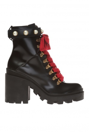 Heeled ankle boots od Gucci