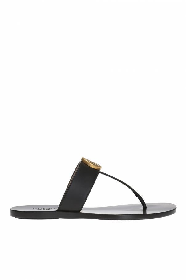 Gucci 'GG Marmont' flip-flops