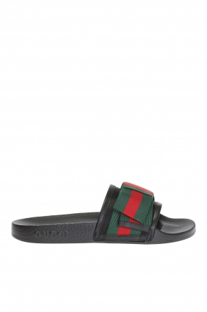 Sliders with bow od Gucci