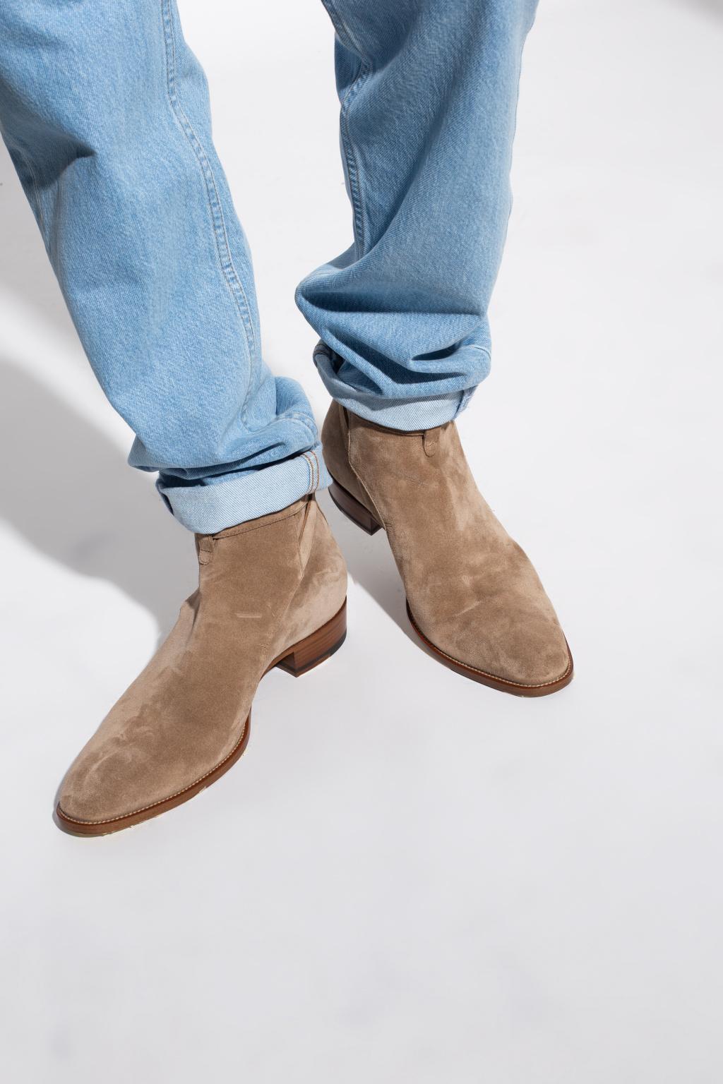 Saint Laurent 'Wyatt' leather boots