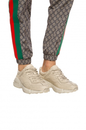 'rhyton' sport shoes on the platform od Gucci