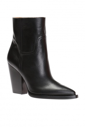 'theo' heeled ankle boots od Saint Laurent
