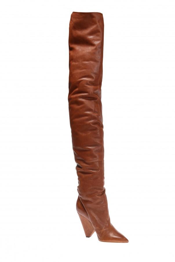 4e3c454e565 Over-the-knee  Niki  boots Saint Laurent - Vitkac shop online