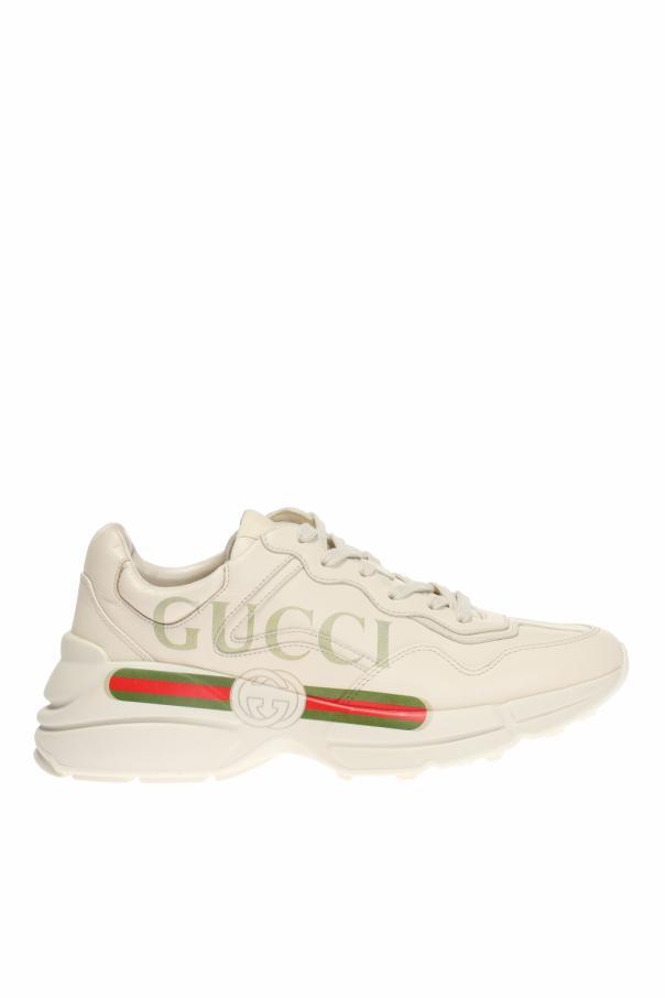 Gucci 'Rhyton' logo sneakers
