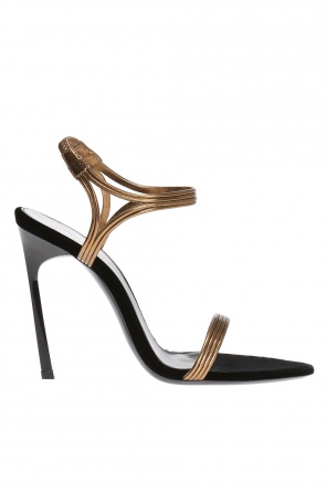 'talitha' heeled sandals od Saint Laurent