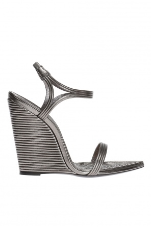 'talitha' wedge sandals od Saint Laurent