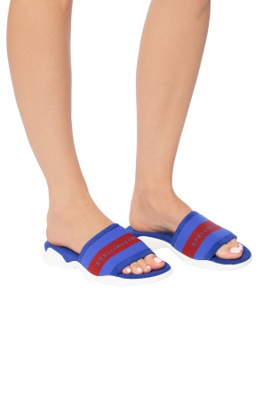 'striped' slides od Stella McCartney