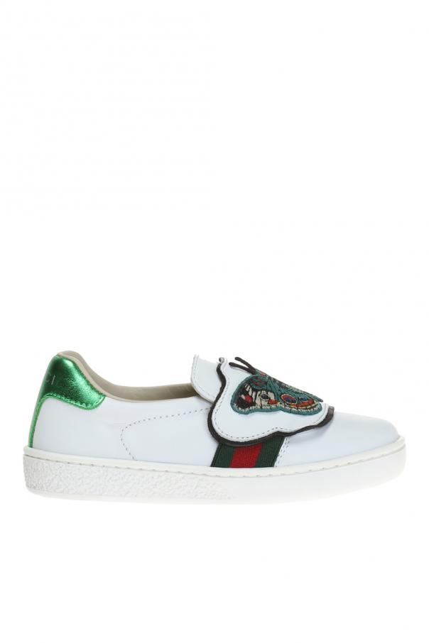 2ccabb1b9 Embroidered sneakers Gucci Kids - Vitkac shop online