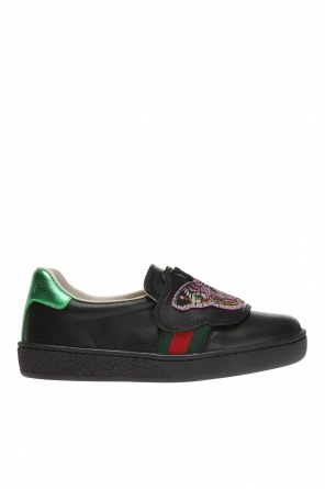 Patched sneakers od Gucci Kids