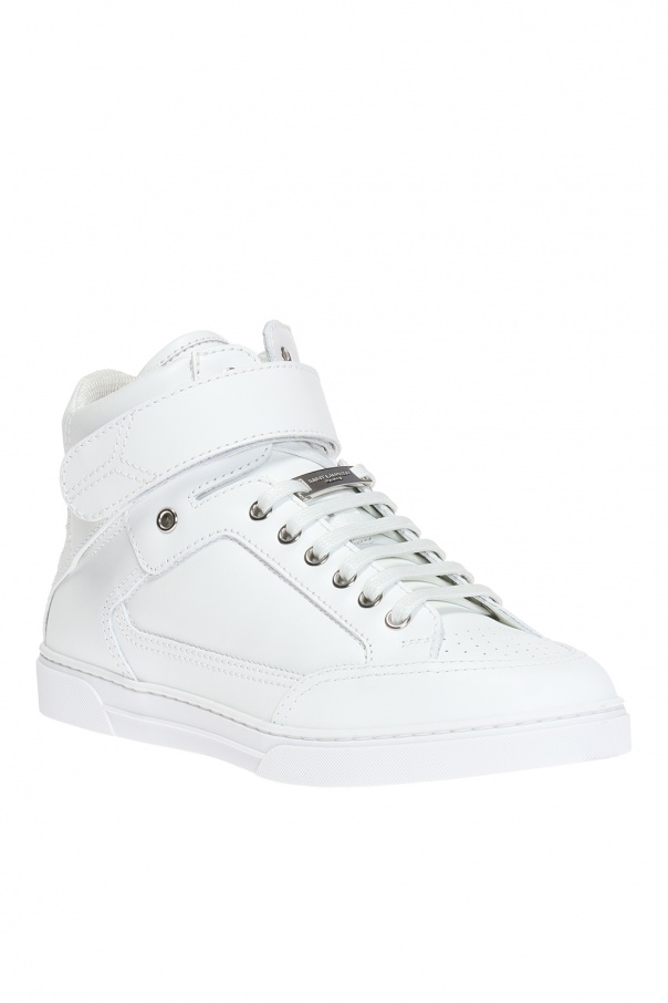 White Max High-Top Sneakers Saint Laurent 59MufdZP