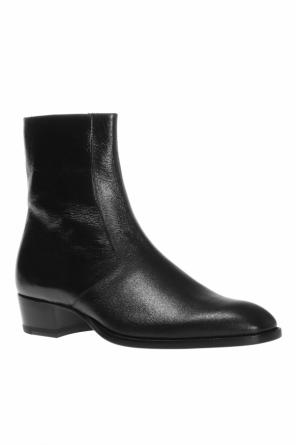 'wyatt' heeled ankle boots od Saint Laurent