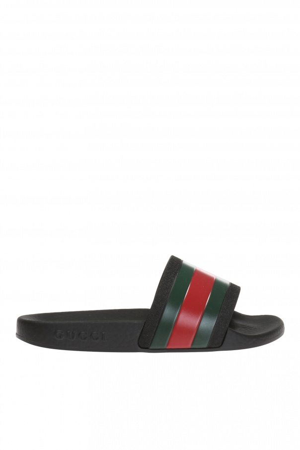 Gucci Kids 'Web' sliders