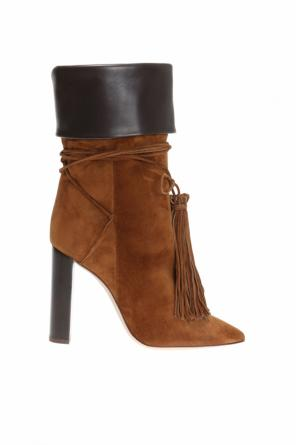 'tanger' heeled ankle boots od Saint Laurent