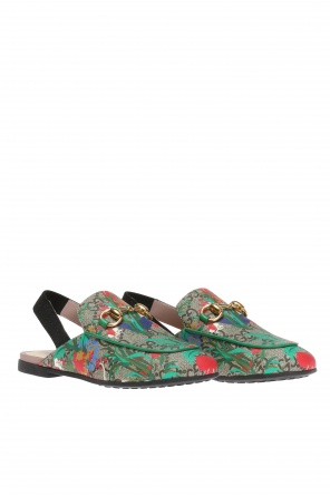 'gg supreme' canvas shoes od Gucci Kids