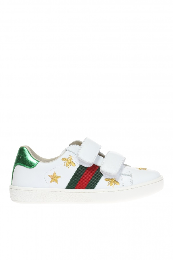Gucci Kids Embroidered sneakers