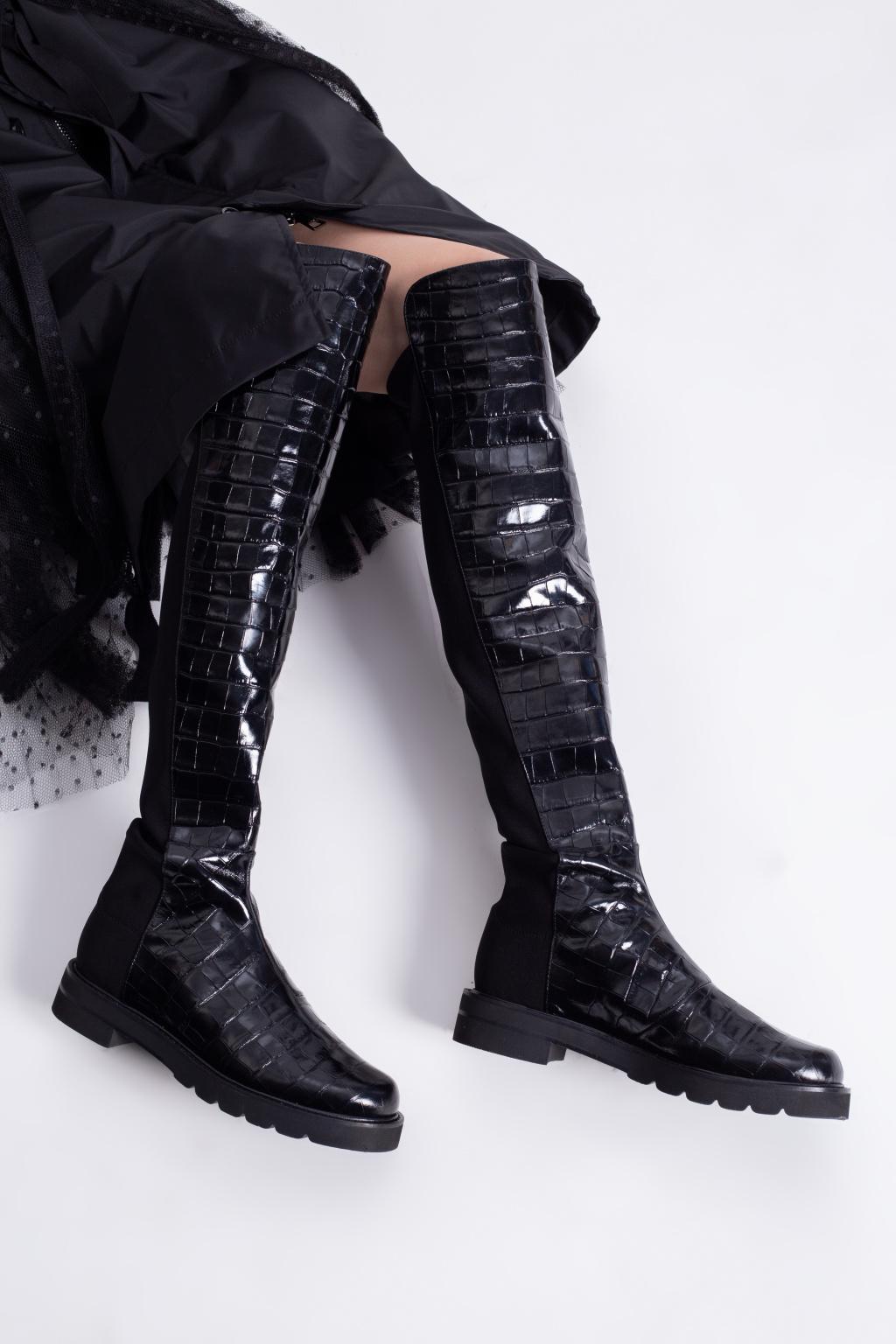 Stuart Weitzman 'Lift' leather boots