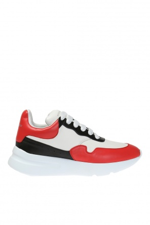 Sports shoes with a logo od Alexander McQueen