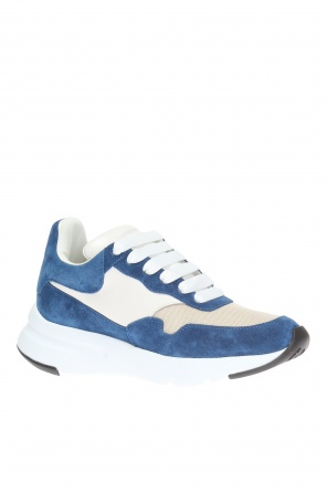 Lace-up sneakers with logo od Alexander McQueen
