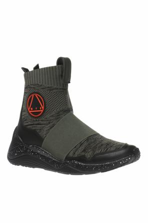 'hikaru' high-top sneakers with sock od McQ Alexander McQueen