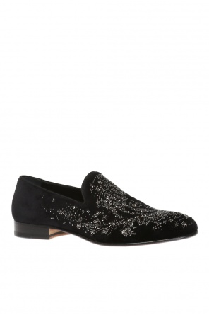 Beaded loafers od Alexander McQueen