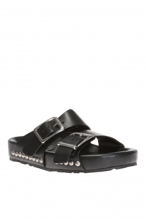 Slides with studs od Alexander McQueen