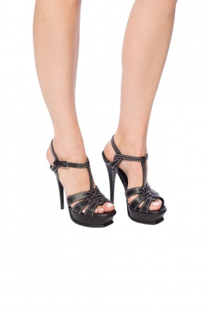 'tribute' heeled sandals od Saint Laurent