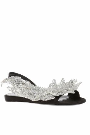 Sequinned sandals od Balenciaga