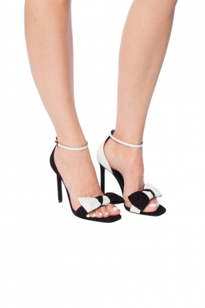 Stiletto sandals with bow od Saint Laurent