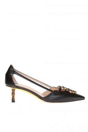 Cut-out pumps od Gucci