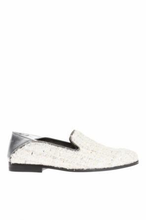 Tweed loafers od Alexander McQueen