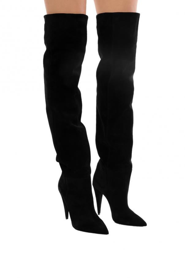'era' over-thee-knee boots od Saint Laurent