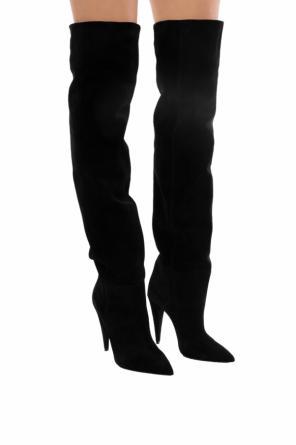 cc20a9138b2  era 110  over-thee-knee boots od Saint Laurent   ...