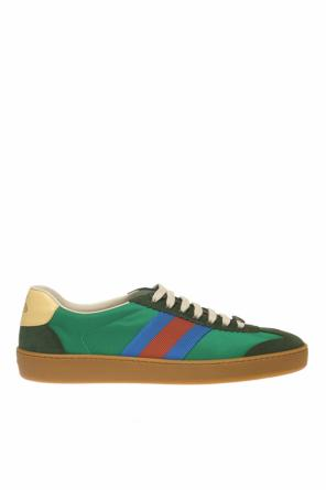 'web' stripe sneakers od Gucci