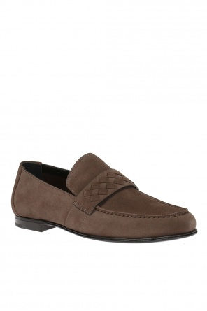Suede loafers od Bottega Veneta