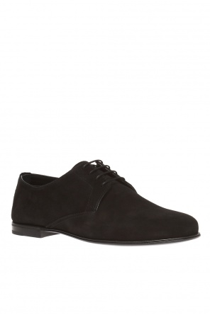 Lace-up suede shoes od Bottega Veneta