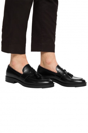 Fringed loafers od Gucci