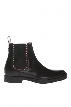Leather chelsea boots od Gucci