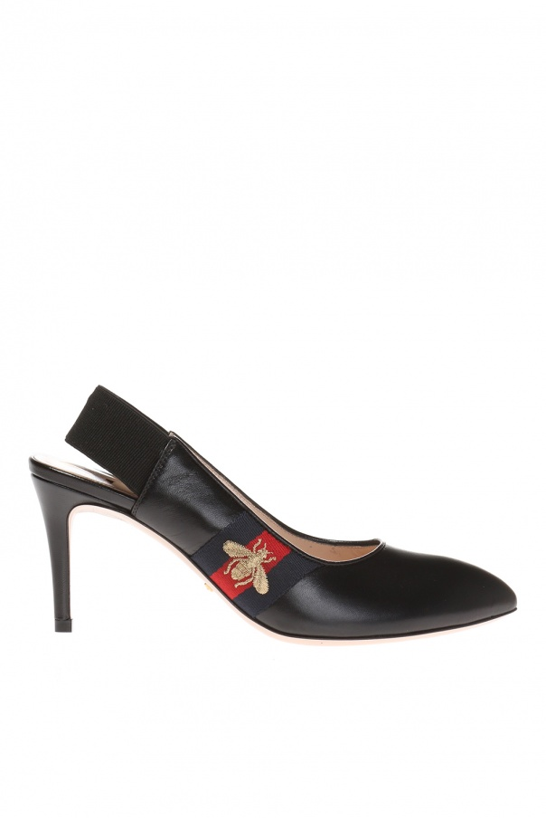 Pointed toe pumps od Gucci