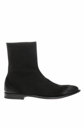 Suede ankle boots od Alexander McQueen