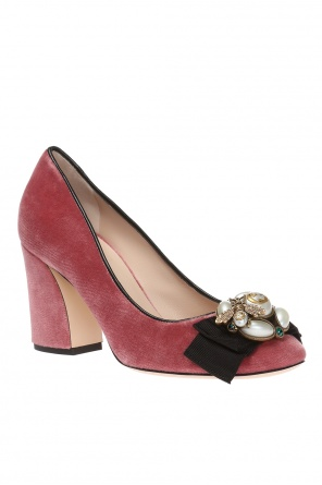 Block heel pumps od Gucci