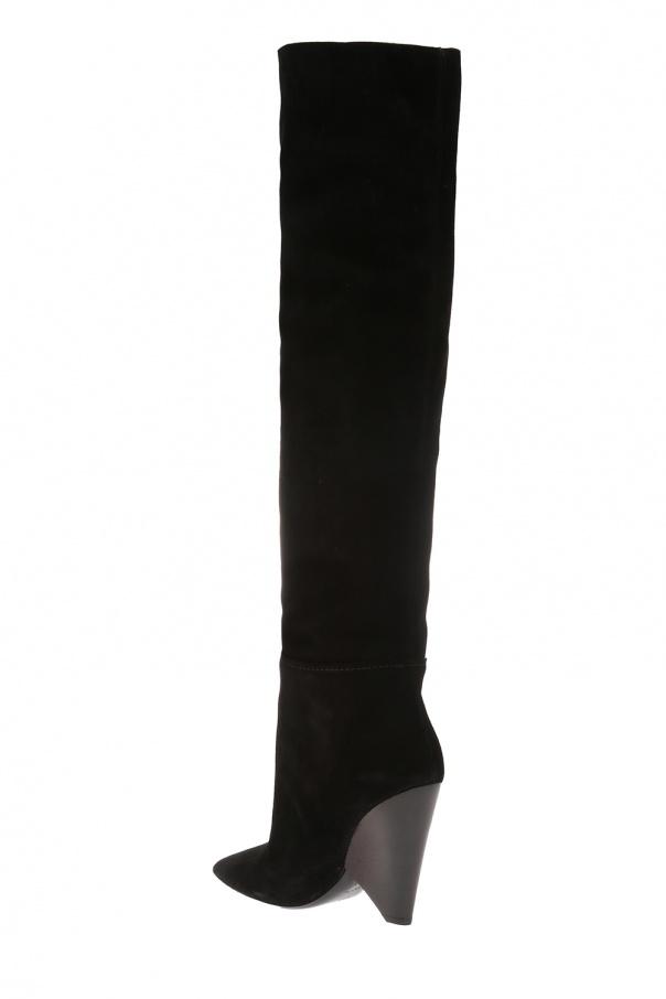 b4ba3cf8fc1 Niki  heeled over-the-knee boots Saint Laurent - Vitkac shop online