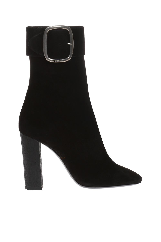 Saint Laurent 'Joplin' high heel boots