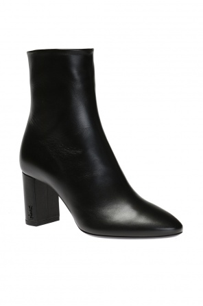 High heeled 'loulou' ankle boots od Saint Laurent